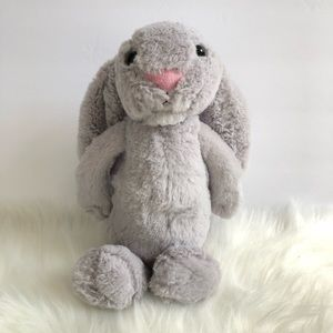 Jellycat bashful bunny rabbit grey 12""